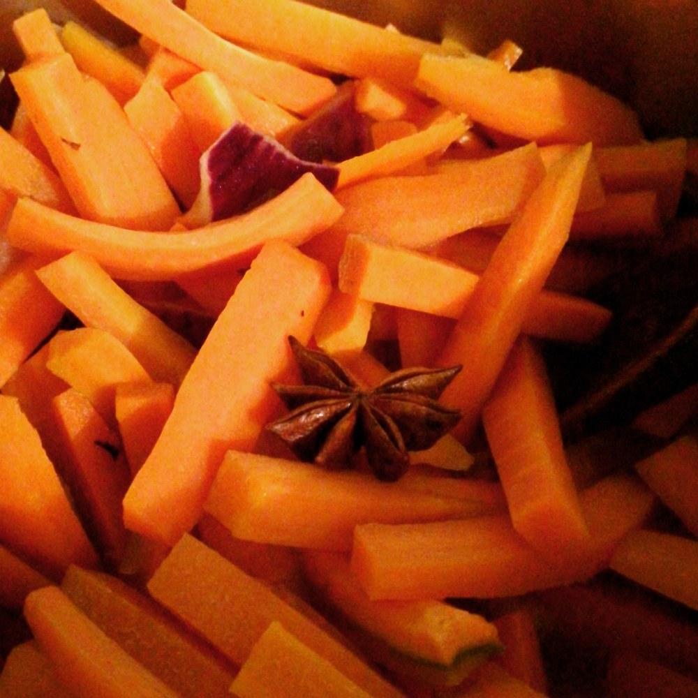 carottes et badiane