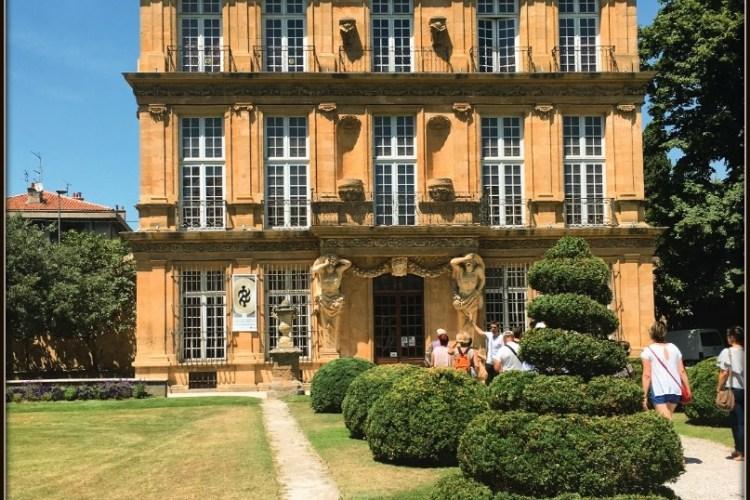 Le jardin du Pavillon Vendôme en visite guidée