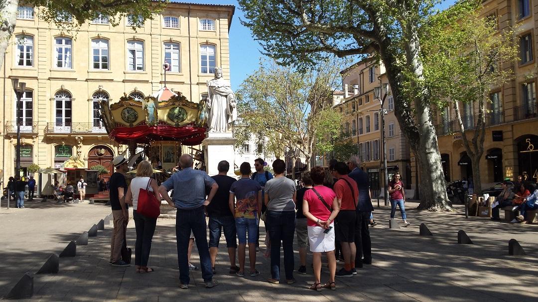 Fontaine du Roi René à Aix-en-Provence
