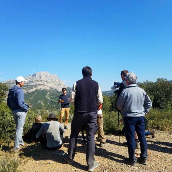 Montagne Sainte-Victoire et l'histoire de ses dinosaures