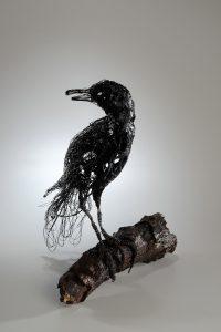 Jenny Tyler wire crow