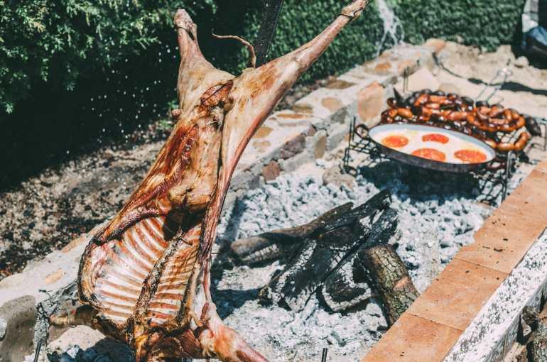 Lamb steakhouse Buenos Aires Parrilla