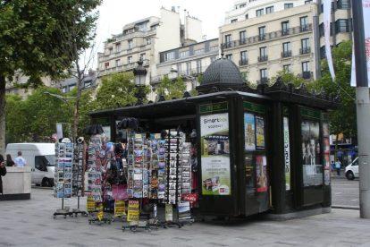 news kiosk