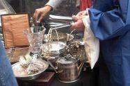 Flea market silver