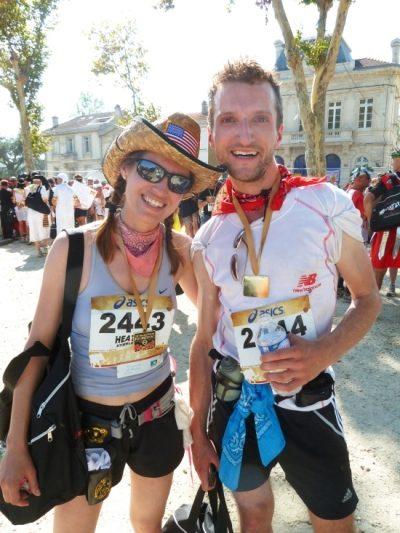 Heather and Bryan Marathon