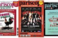 Pariscope covers