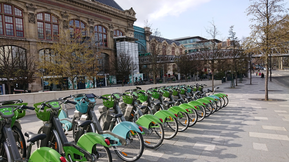 velib bikes