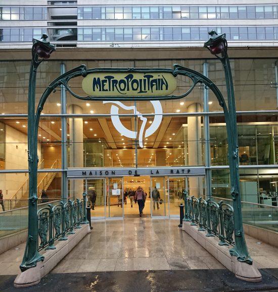 Hector Guimard metro entrance