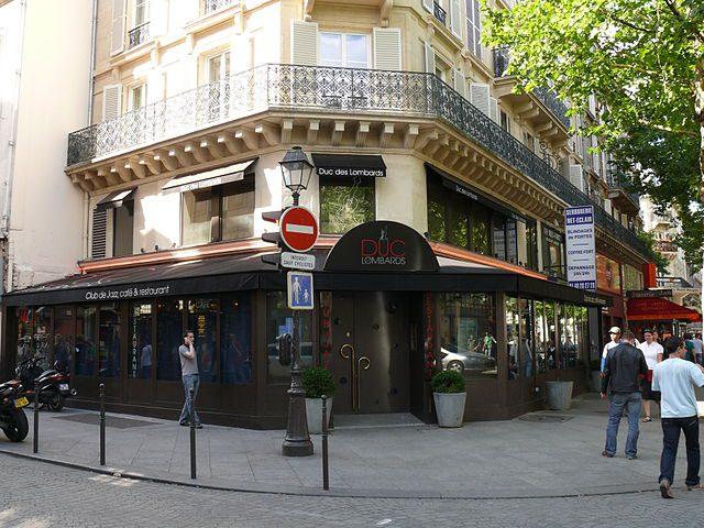Duc-des-Lombards facade