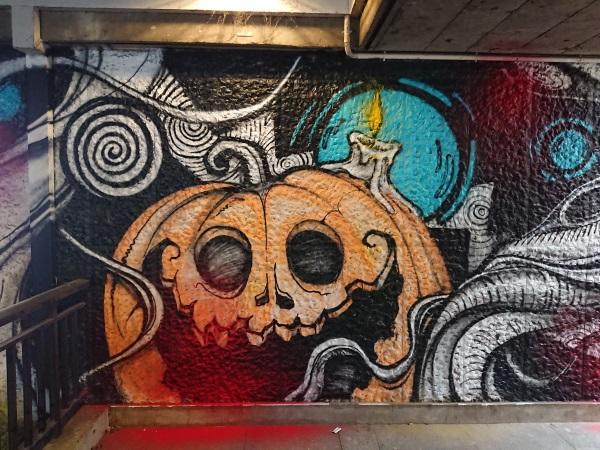 Broca tunnel streetart