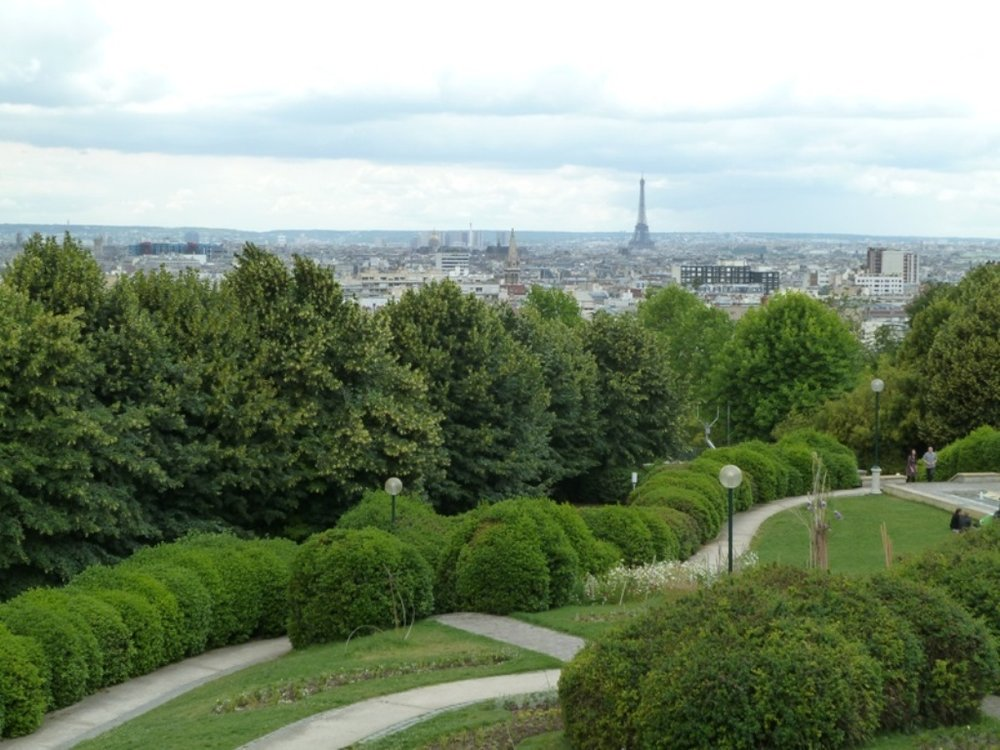 View from Parc de Belleville