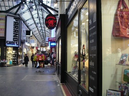 Shopping Passage in Reims
