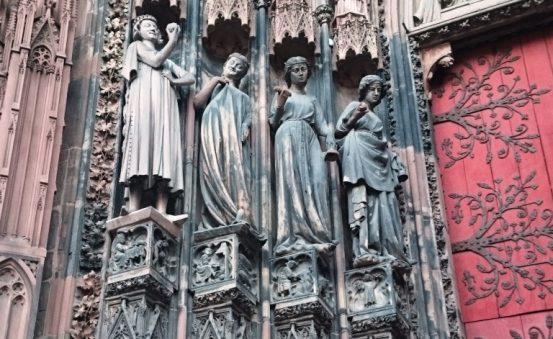 Cathedral facade