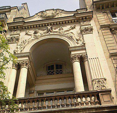 Rodin facade cinema