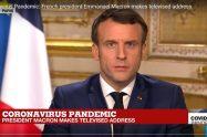 President Macron speech