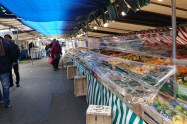 open air food market under Covid19