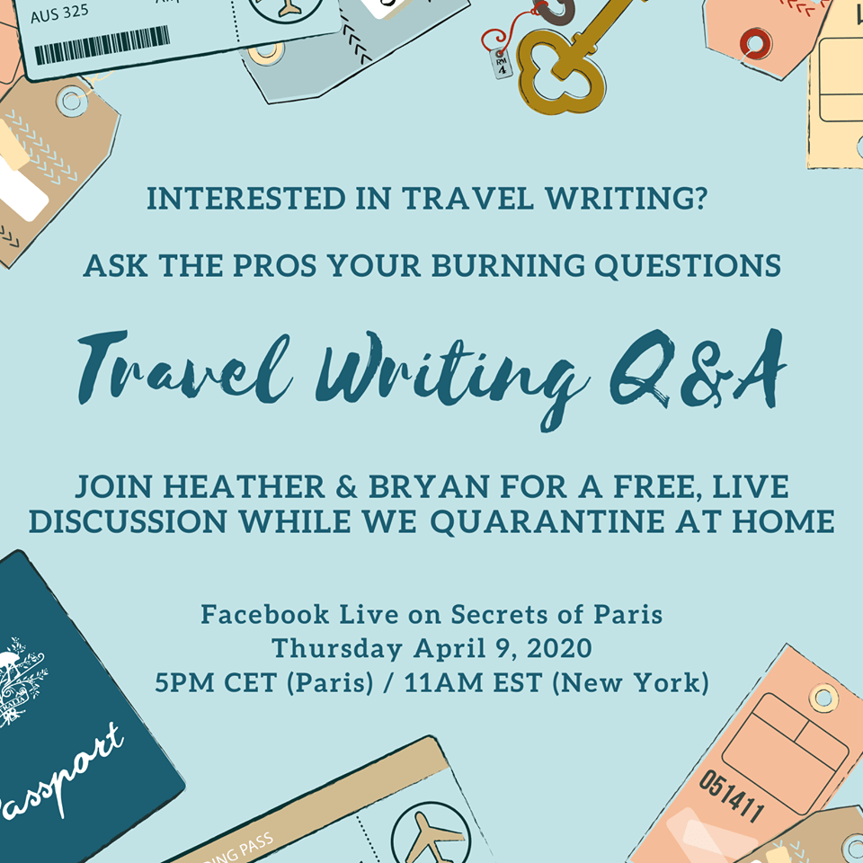 Travel Writing Q&A