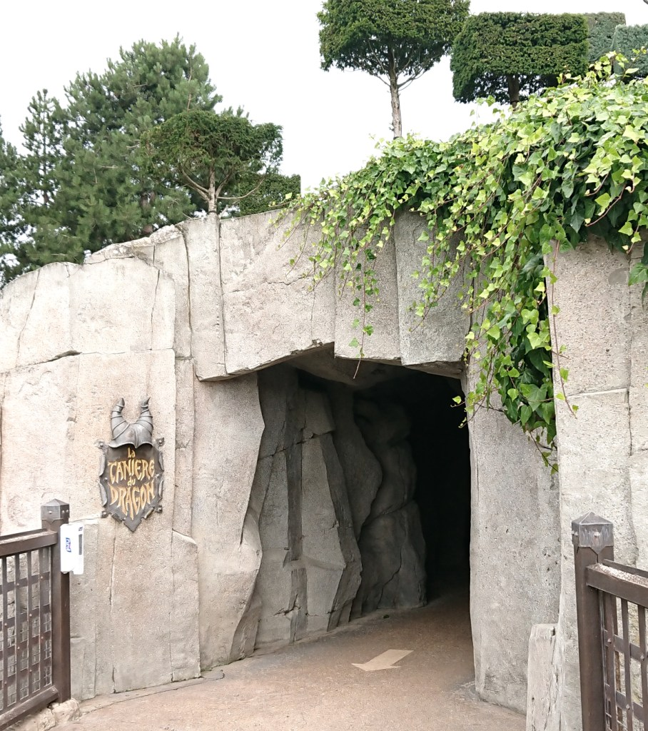 The dragon's Lair entrance
