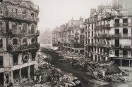 Rue de Rivoli after the Paris Commune