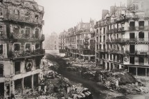 Rue de Rivoli after the Paris Commune