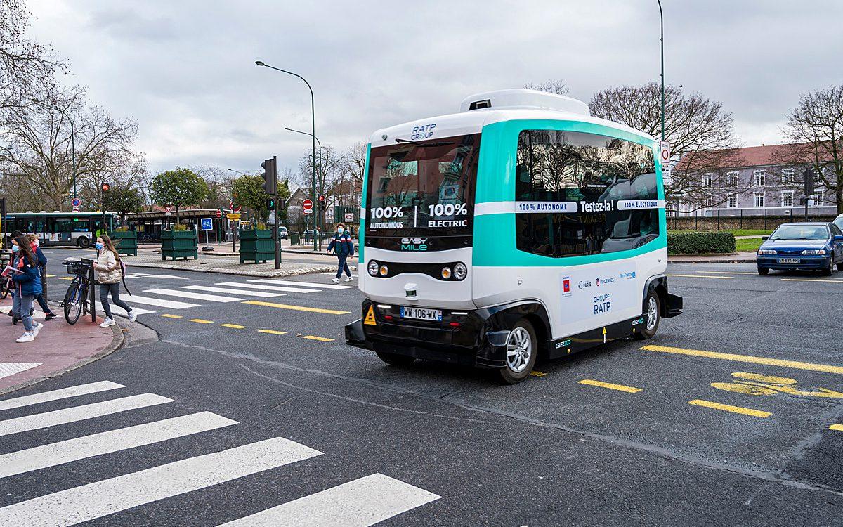 RATP's new driverless shuttle