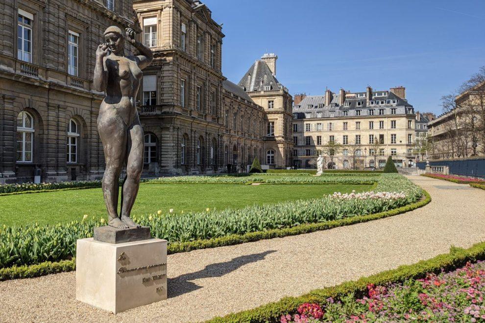 Statue Luxembourg Garden