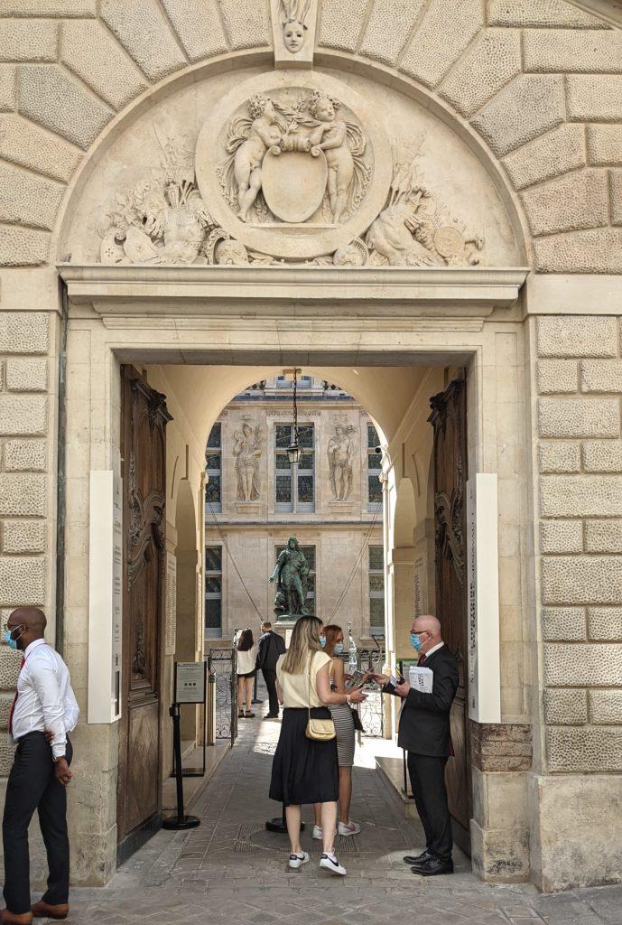 Carnavalet entrance
