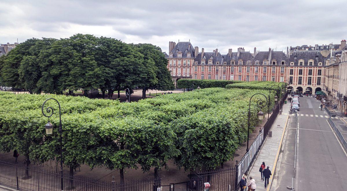 View of Place des Vosges