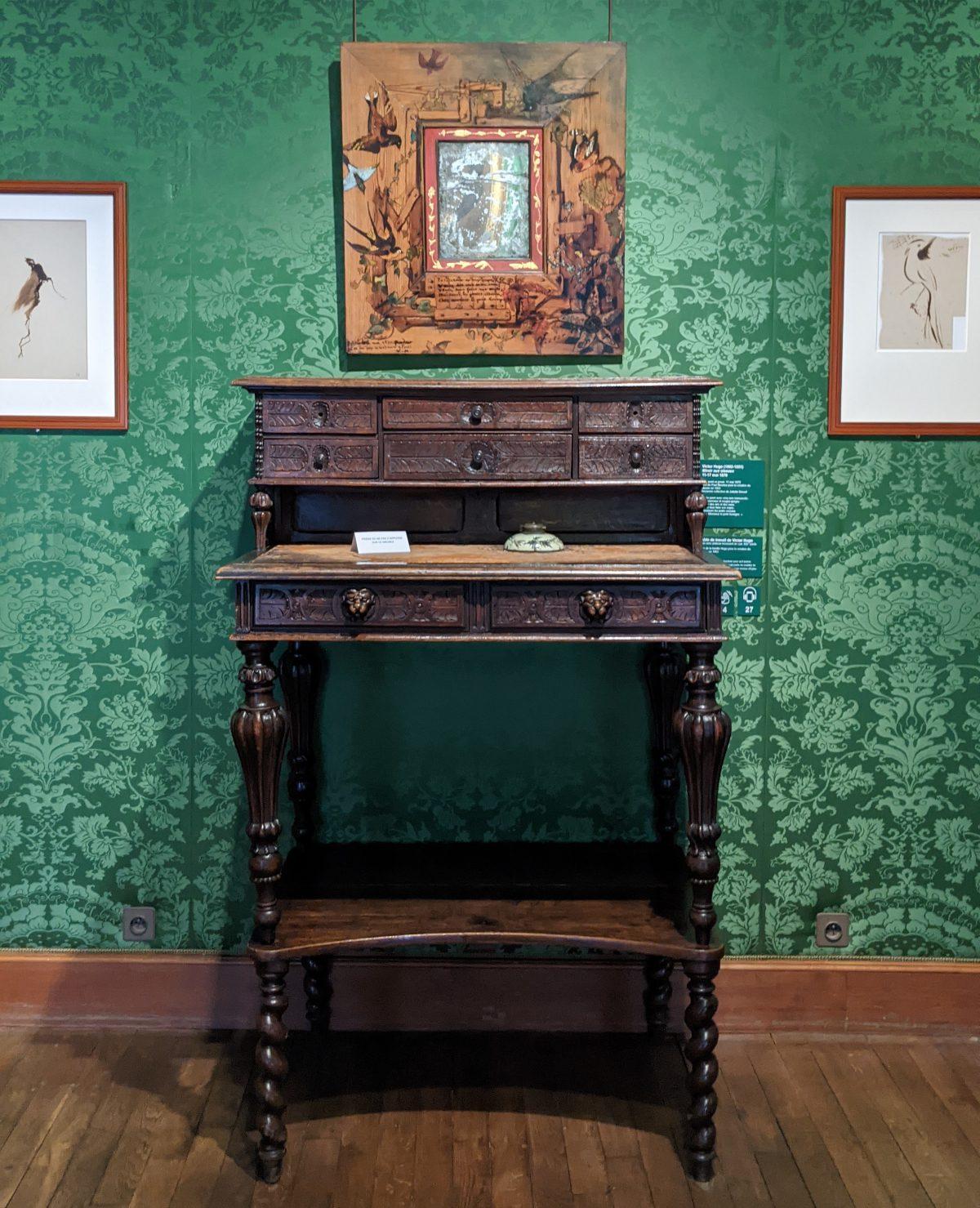 Victor Hugo's standing desk