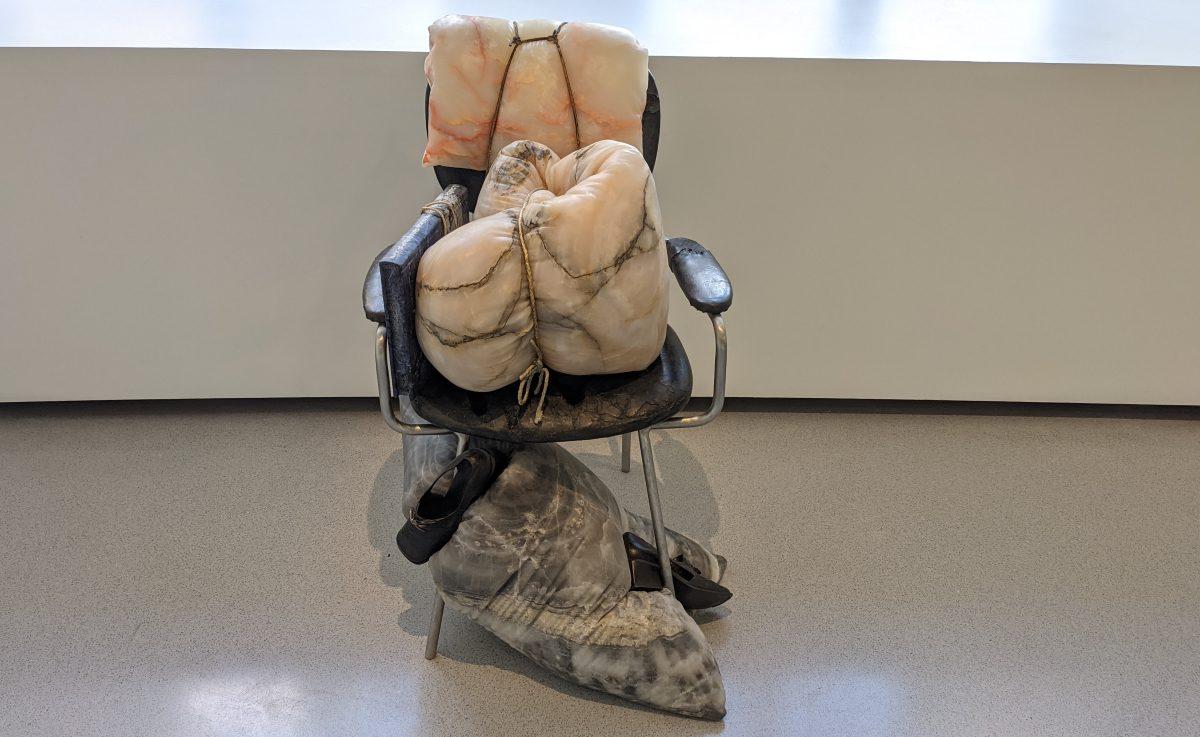 sculptured chair