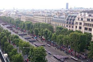 Bastille day parade