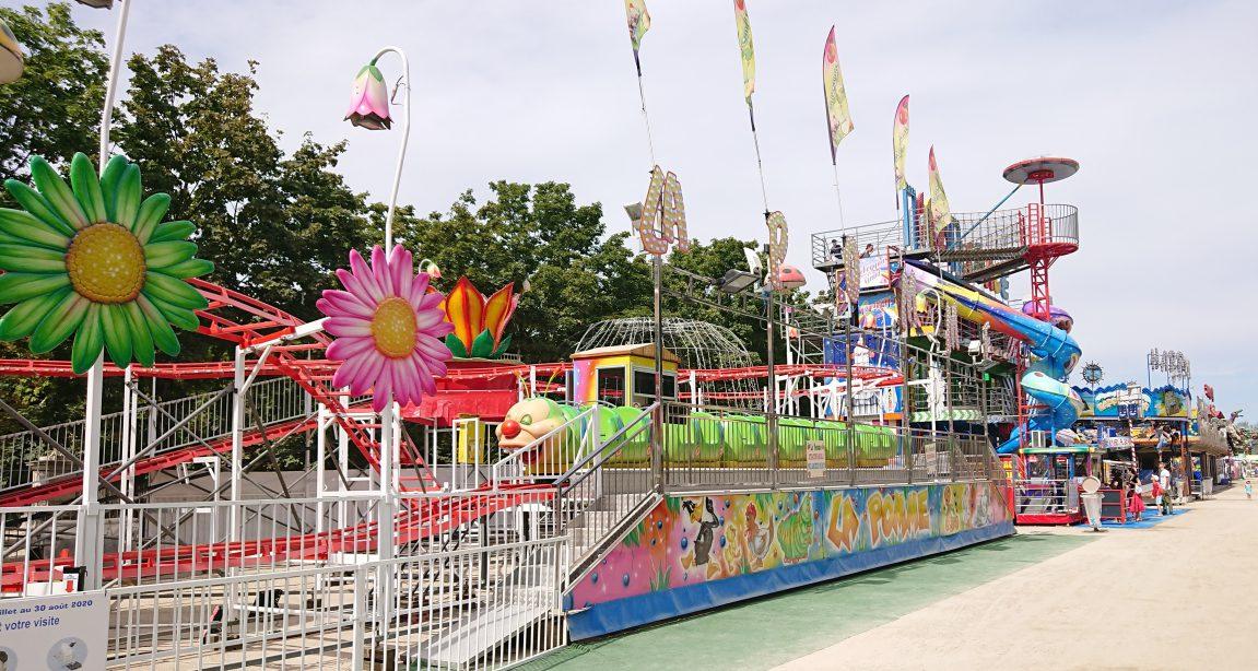 Tuileries fun fair