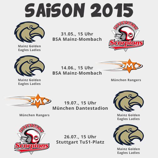Spielplan 2015