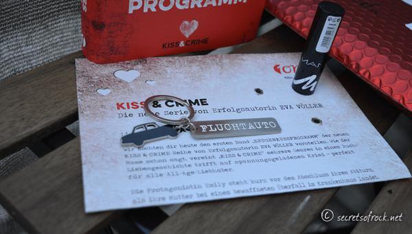 Kiss & Crime: Mit dem Lippenstift auf der Flucht!
