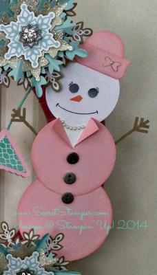 Let It Snow Wreath Mrs. Snow