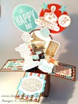 By Debbie Mageed, Giggle Greetings, Starburst Saying, Card in a Box, Fun Fold, Masculine, Kids