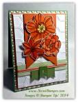 By Debbie Mageed, Secret Garden, Watercolor, Banner Blast, Hexagon