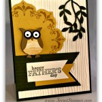 By Debbie Mageed, Daydream Medallions, Delightful Dozen, Bird Builder Punch, Owl Builder Punch, Floral Frames, Fathers Day, Masculine