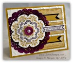 By Debbie Mageed, Daydream Medallions, Itty Bitty Banners