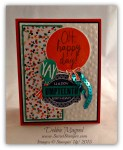 By Debbie Mageed, Celebrate Today, Oh My Goodies, Stampin Up