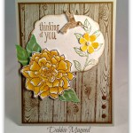 By Debbie Mageed, Peaceful Petals, Bloomin Marvelous, Hardwood, Stampin Up