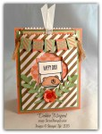 By Debbie Mageed, Cheerful Critters, Celebrate Today, Stampin Up