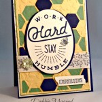 By Debbie Mageed, Adventure Awaits, Bordering Blooms, Something to Say, Stampin Up