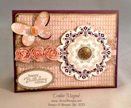 Butterfly Basics, Daydream Medallions, Petite Pairs