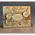 By Debbie Mageed, Everything Eleanor, I Love Lace, World of Dreams, Stampin Up