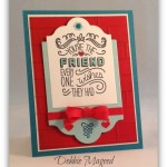 By Debbie Mageed, Friendly Wishes, Stampin Up