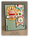By Debbie Mageed, Sweet Cake, Cupcake Party, Sketched Birthday, Stampin Up
