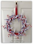 By Debbie Mageed, Wreath, June 2014 Paper Pumpkin, Stampin Up