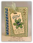 By Debbie Mageed, Garden in Bloom, Bordering Blooms, Stampin Up