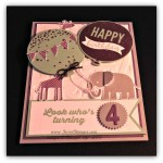 By Debbie Mageed, Zoo Babies, Celebrate Today, Stampin Up